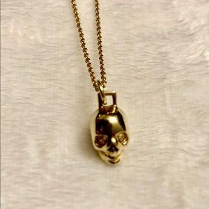Coach Demi-Fine Skull Necklace